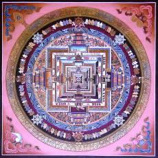 Tibetan mandala 'Kalachakra thangka' © Wikimedia Commons