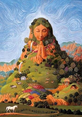 Mother Earth - ©EarthFirst Newswire