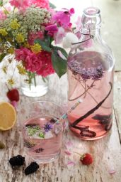 Vanilla, Blackberry & Lavender Flavoured Water ©alkalinesisters.com