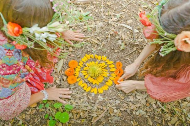 Nature Mandala ©Mystic Mamma + The Local Rose