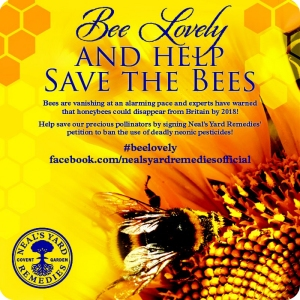 NYR Bee Lovely Blogger Badge