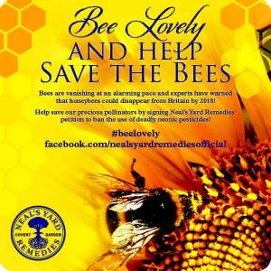 NYR Bee Lovely Blogger Badge