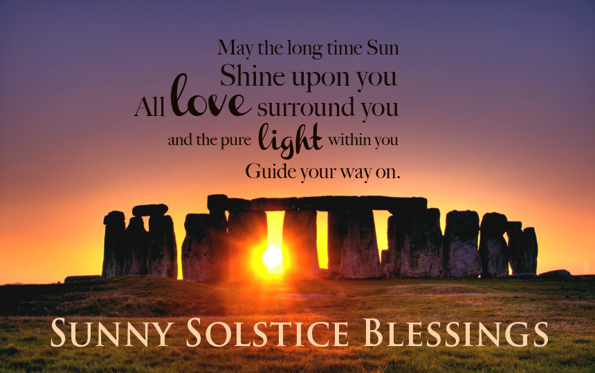 Image result for Summer Solstice blessings with bright sun gif