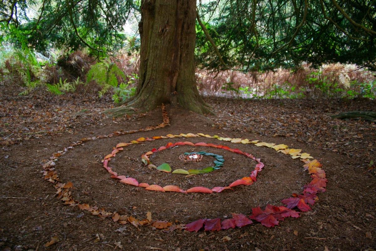 Samhain Celebrations ~ Nature Spiral Ritual